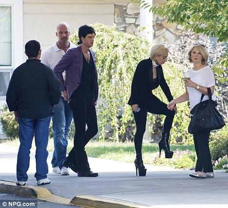 Lady Gaga Visits Nursing Home